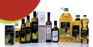 Aceite de oliva virgen Olibe. Gama de aceits